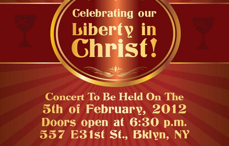 Celebrating our Liberty in Christ Concert