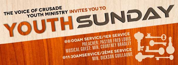 The Voice of Crusade Youth Ministry: Youth Sunday